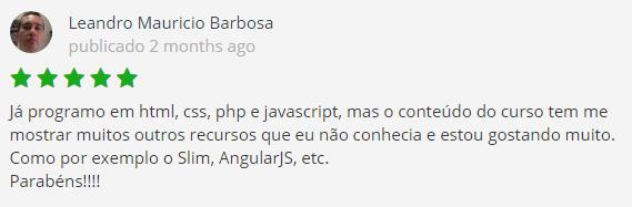Recomendacao Curso WebDesign